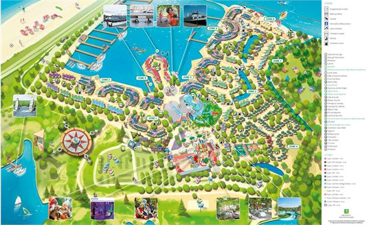fr le plan de center parcs port z lande