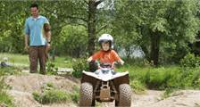 Balade en mini quad à Center Parcs Bispinger Heide